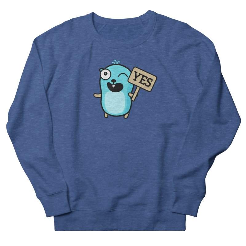 Yes Men's Sweatshirt by Be like a Gopher