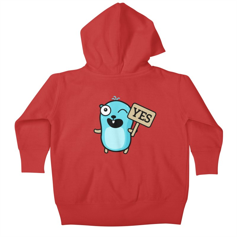 Yes Kids Baby Zip-Up Hoody by Be like a Gopher
