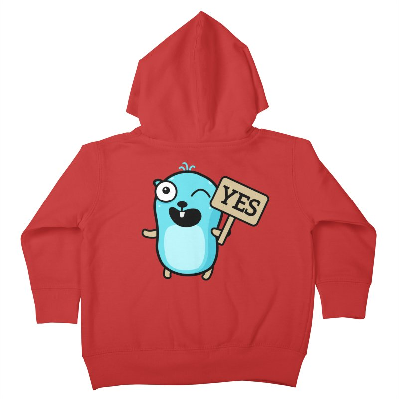 Yes Kids Toddler Zip-Up Hoody by Be like a Gopher