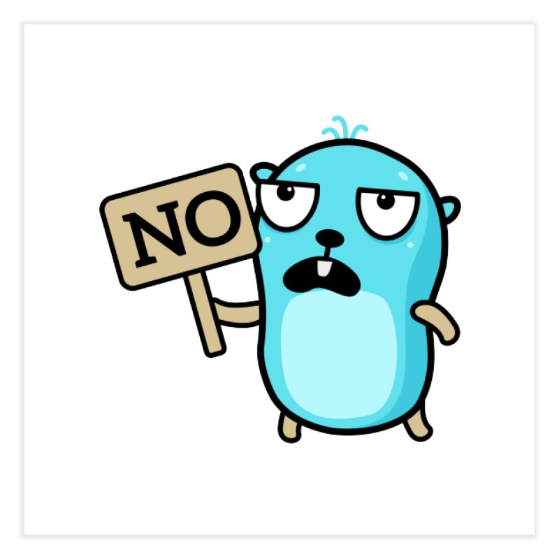 No Home Fine Art Print by Be like a Gopher
