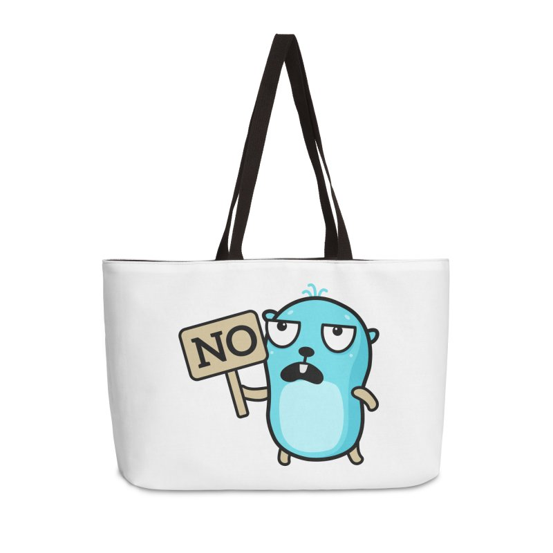 No Accessories Bag by Be like a Gopher