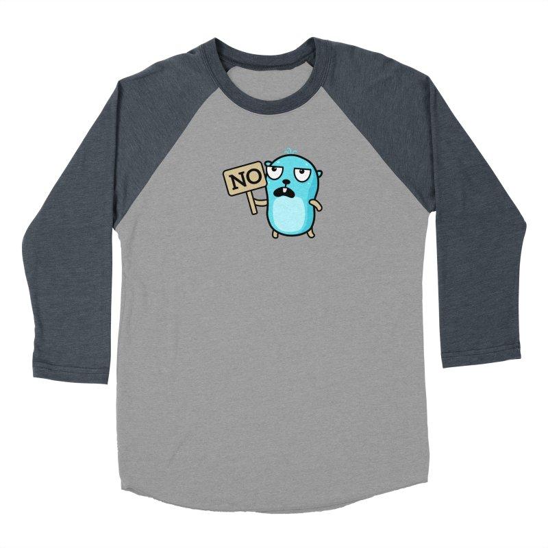 No Women's Longsleeve T-Shirt by Be like a Gopher
