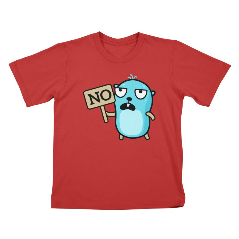 No Kids T-Shirt by Be like a Gopher
