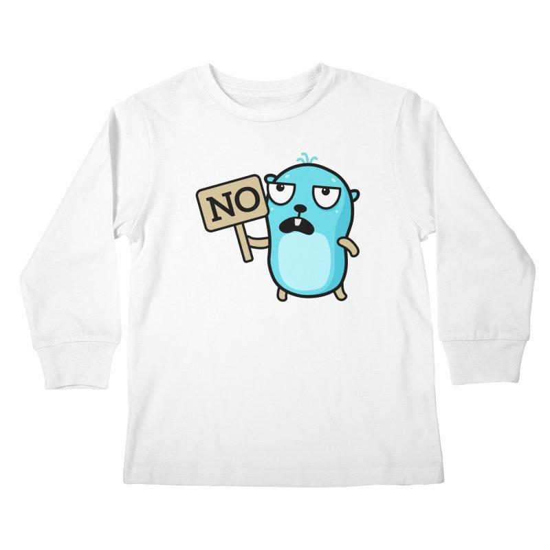 No Kids Longsleeve T-Shirt by Be like a Gopher