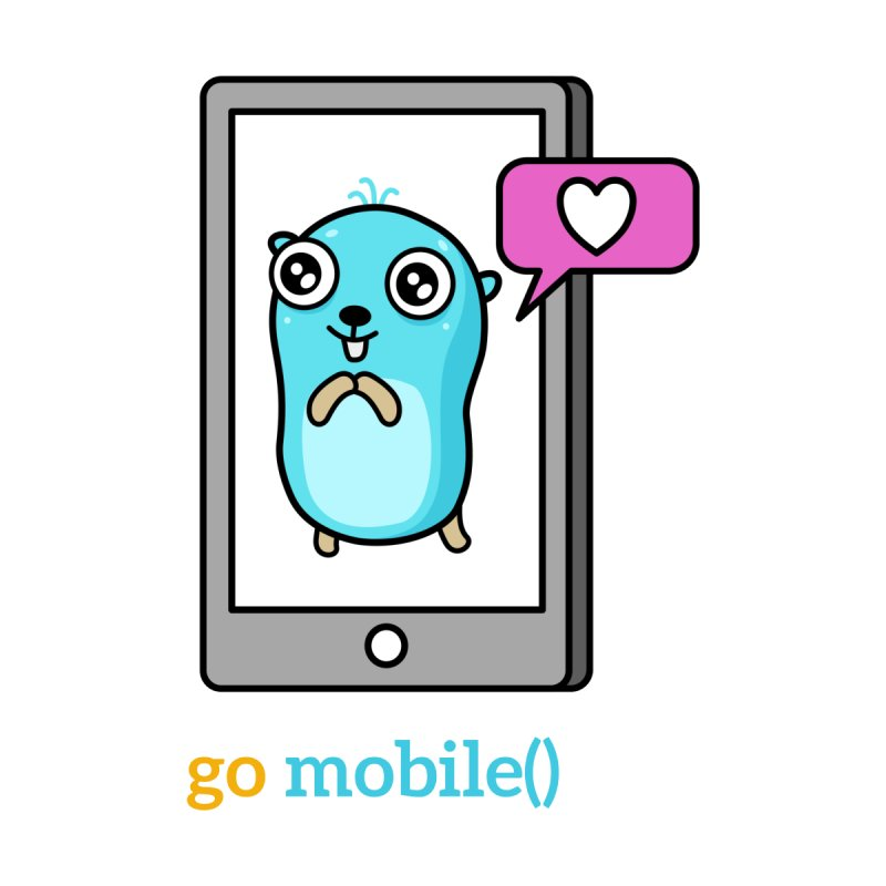 go mobile() Accessories Button by Be like a Gopher