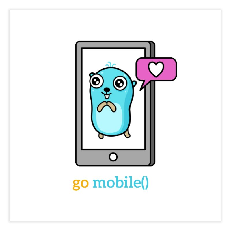 go mobile() Home Fine Art Print by Be like a Gopher