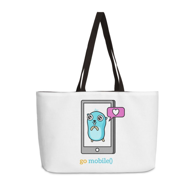 go mobile() Accessories Bag by Be like a Gopher