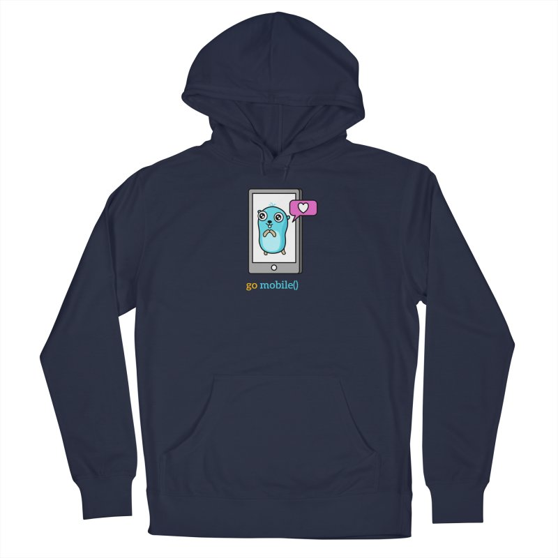go mobile() Men's Pullover Hoody by Be like a Gopher
