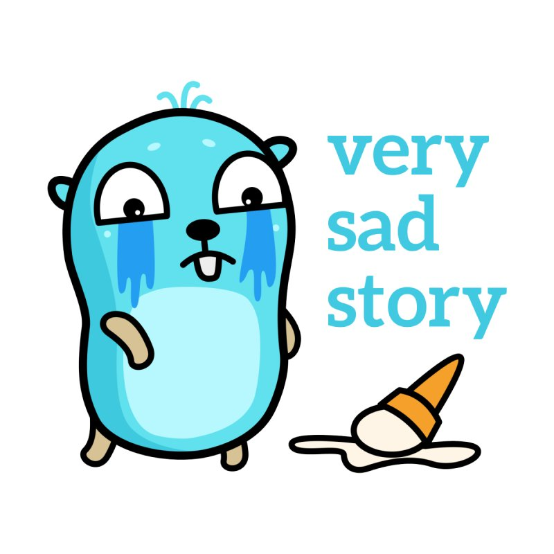Very sad story Accessories Mug by Be like a Gopher