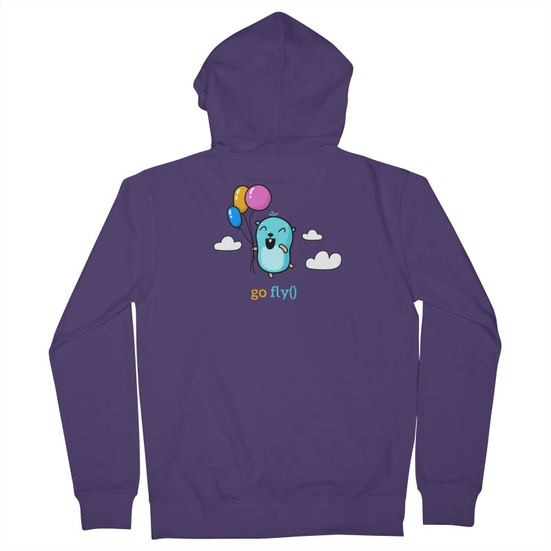 go fly() Women's Zip-Up Hoody by Be like a Gopher