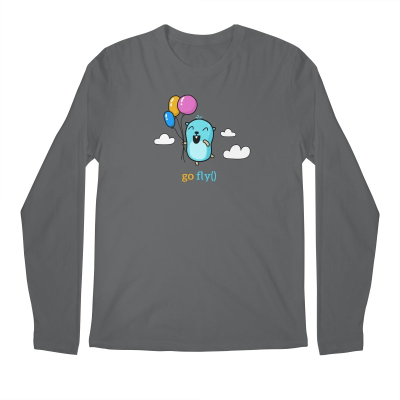 go fly() Men's Longsleeve T-Shirt by Be like a Gopher