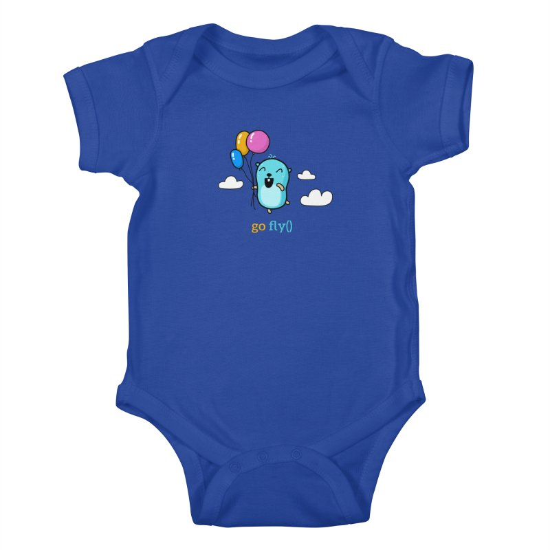 go fly() Kids Baby Bodysuit by Be like a Gopher