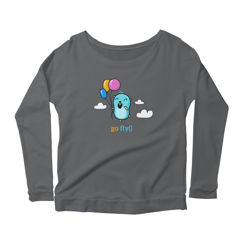 go fly() Women's Longsleeve T-Shirt by Be like a Gopher