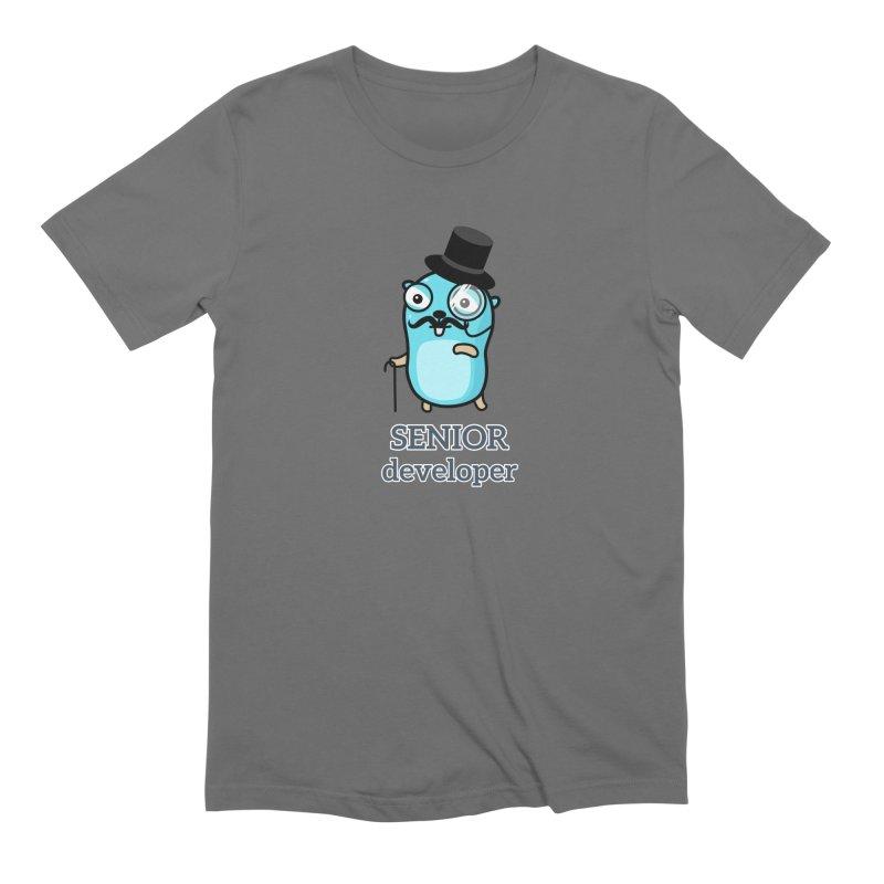 senior developer Men's T-Shirt by Be like a Gopher