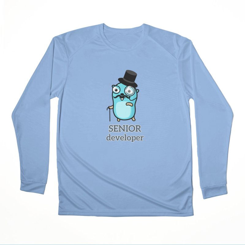 senior developer Men's Longsleeve T-Shirt by Be like a Gopher