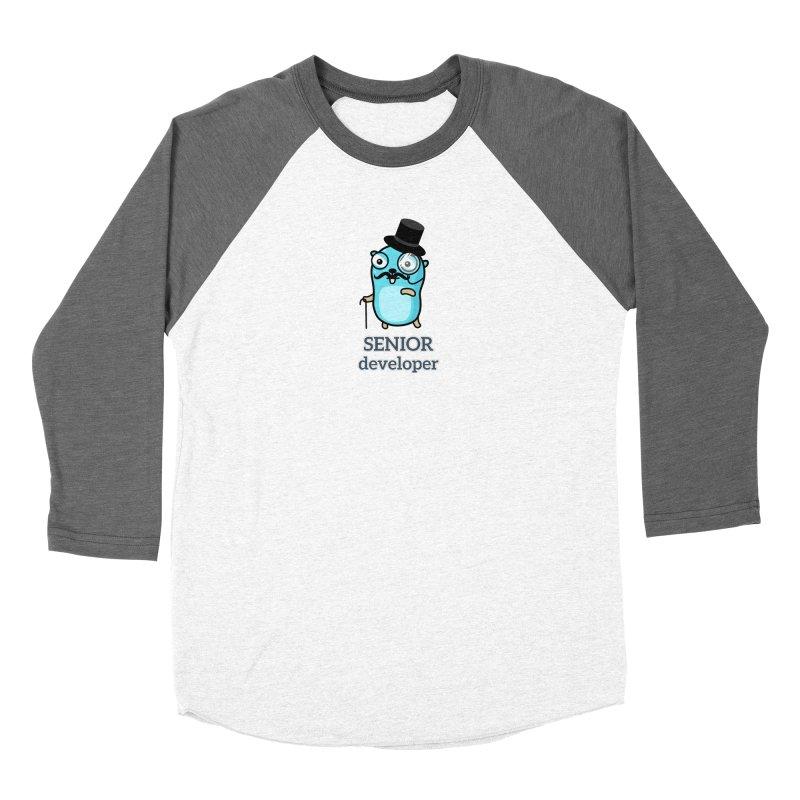 senior developer Women's Longsleeve T-Shirt by Be like a Gopher