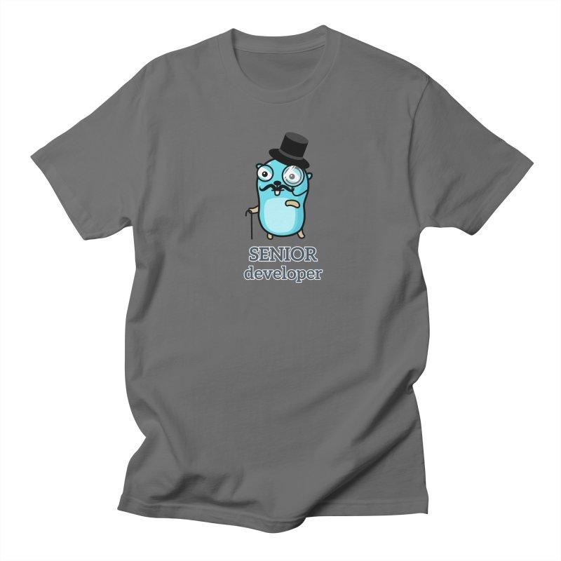 senior developer Women's T-Shirt by Be like a Gopher