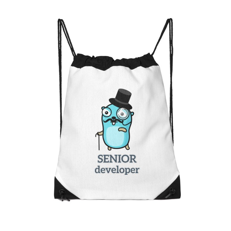 senior developer Accessories Bag by Be like a Gopher