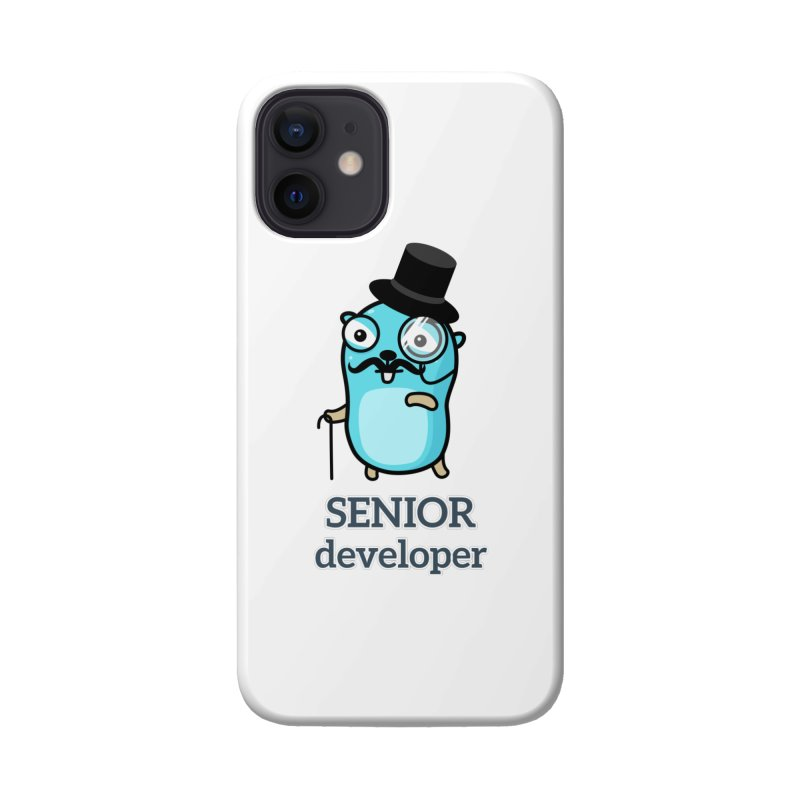 senior developer Accessories Phone Case by Be like a Gopher