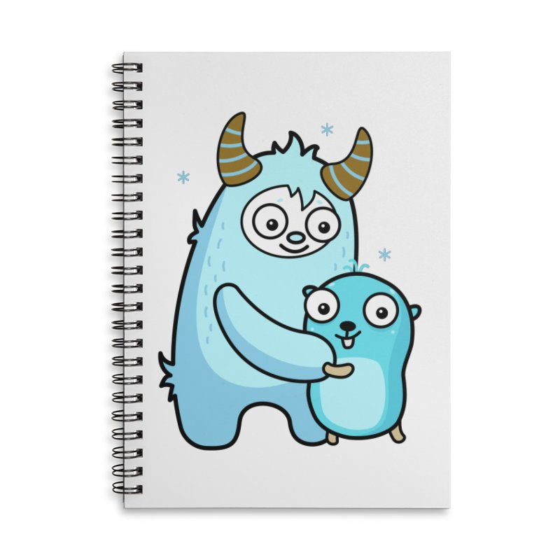 My dear Yeti friend Accessories Notebook by Be like a Gopher