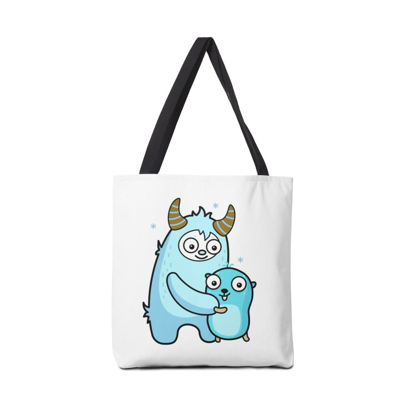 My dear Yeti friend Accessories Bag by Be like a Gopher