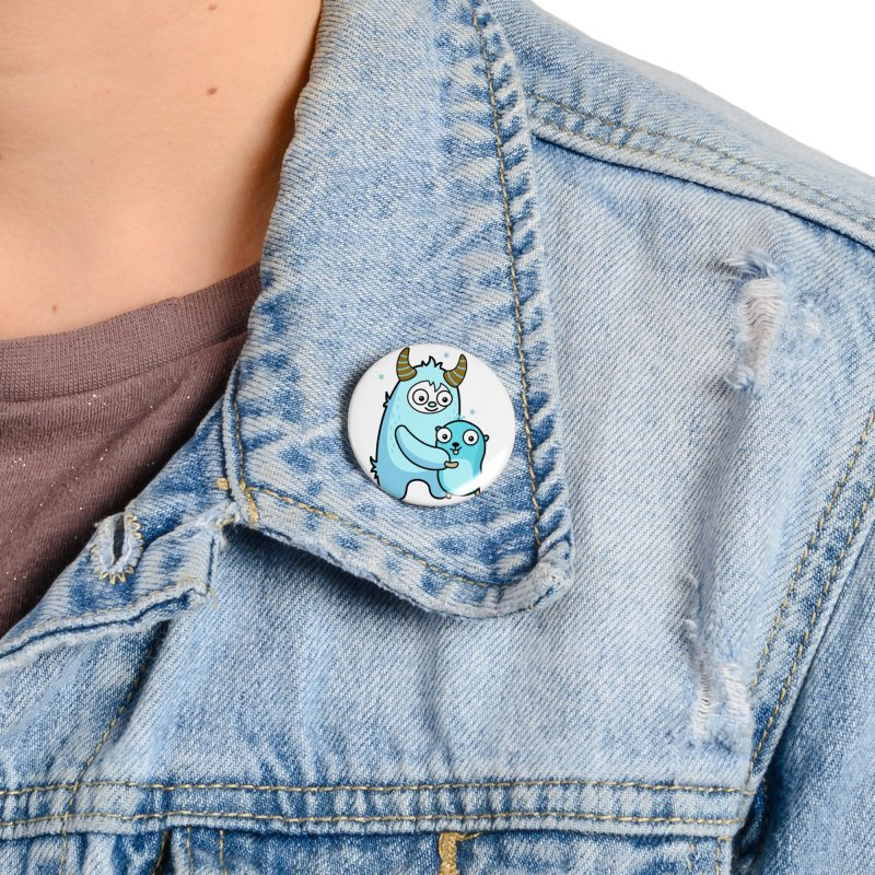 My dear Yeti friend Accessories Button by Be like a Gopher