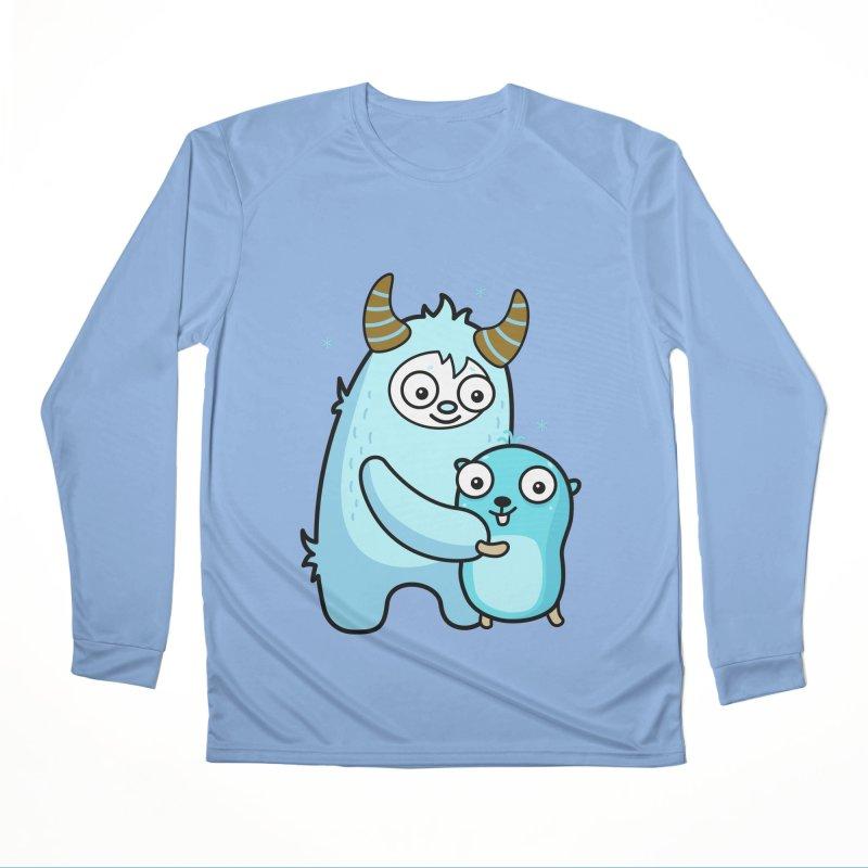 My dear Yeti friend Women's Longsleeve T-Shirt by Be like a Gopher