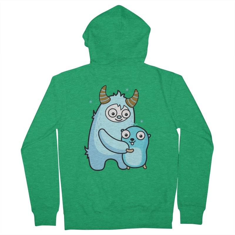 My dear Yeti friend Women's Zip-Up Hoody by Be like a Gopher