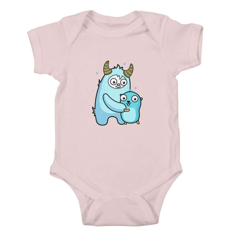 My dear Yeti friend Kids Baby Bodysuit by Be like a Gopher