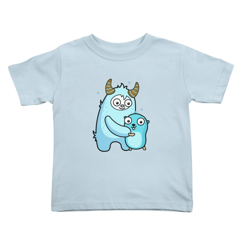 My dear Yeti friend Kids Toddler T-Shirt by Be like a Gopher