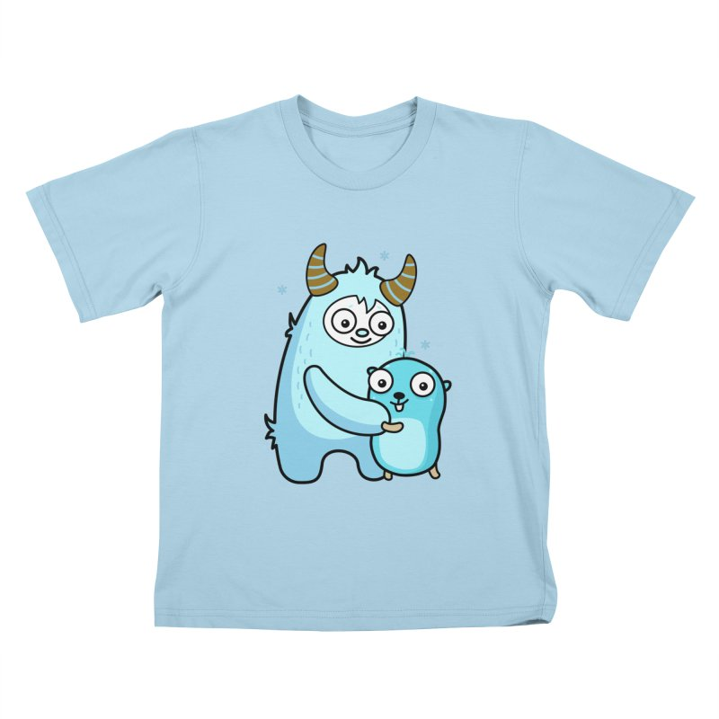 My dear Yeti friend Kids T-Shirt by Be like a Gopher