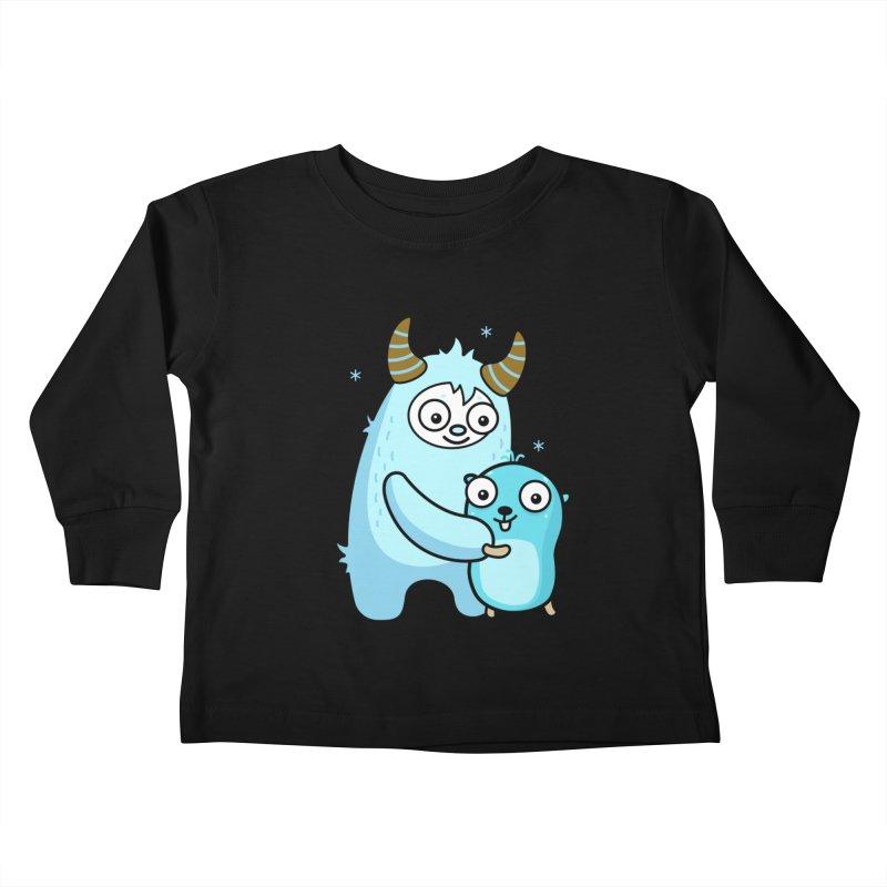 My dear Yeti friend Kids Toddler Longsleeve T-Shirt by Be like a Gopher