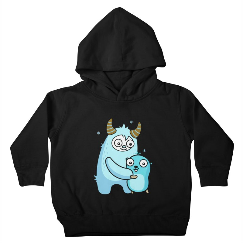 My dear Yeti friend Kids Toddler Pullover Hoody by Be like a Gopher