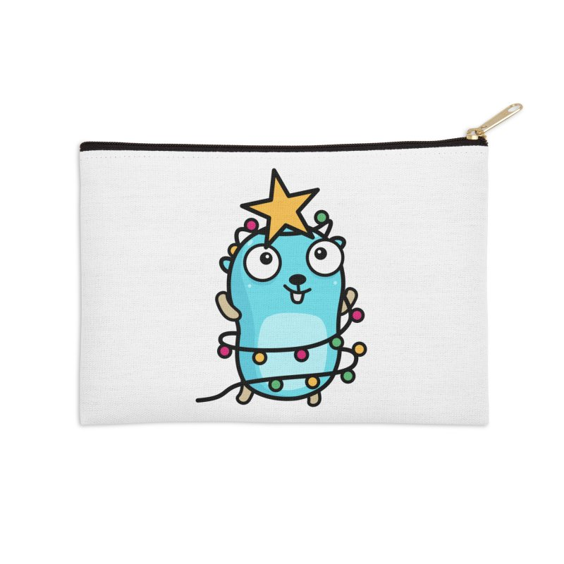 Christmas time Accessories Zip Pouch by Be like a Gopher