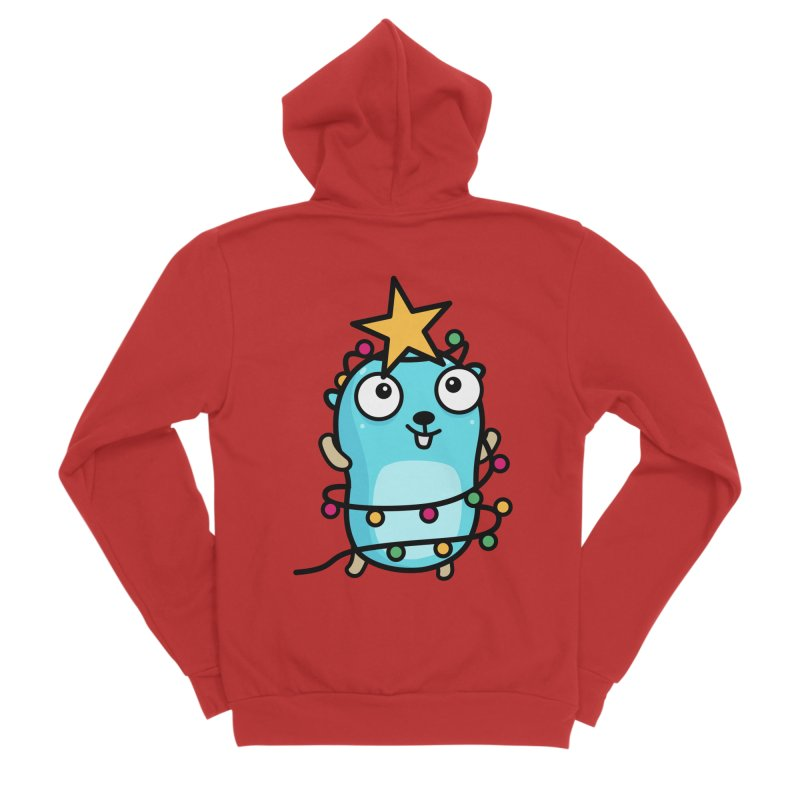 Christmas time Women's Zip-Up Hoody by Be like a Gopher