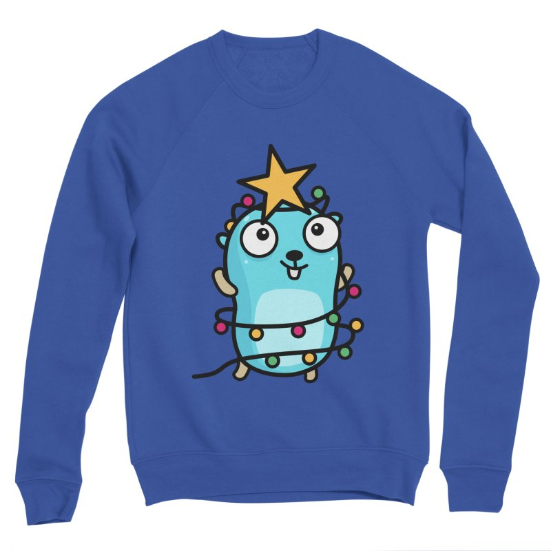 Christmas time Men's Sweatshirt by Be like a Gopher