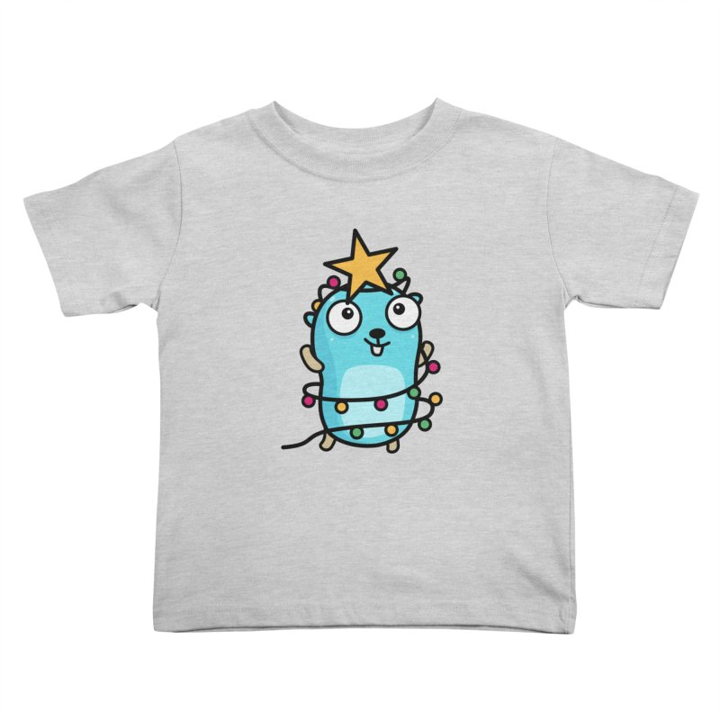 Christmas time Kids Toddler T-Shirt by Be like a Gopher