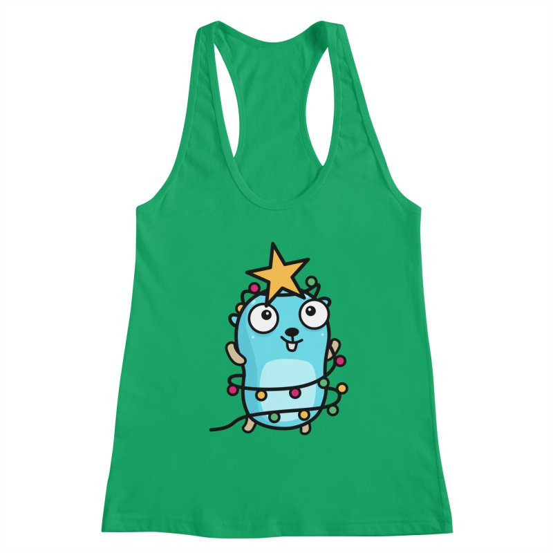 Christmas time Women's Tank by Be like a Gopher