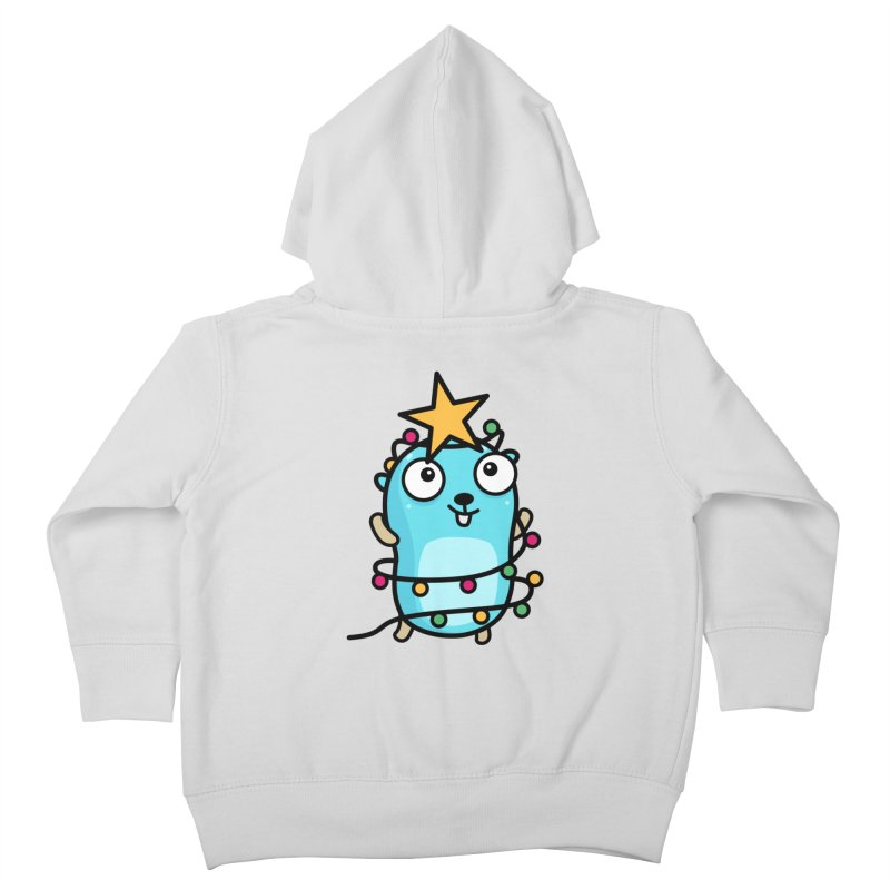 Christmas time Kids Toddler Zip-Up Hoody by Be like a Gopher