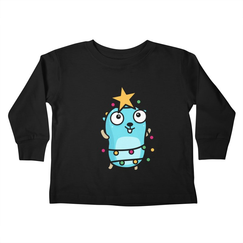 Christmas time Kids Toddler Longsleeve T-Shirt by Be like a Gopher