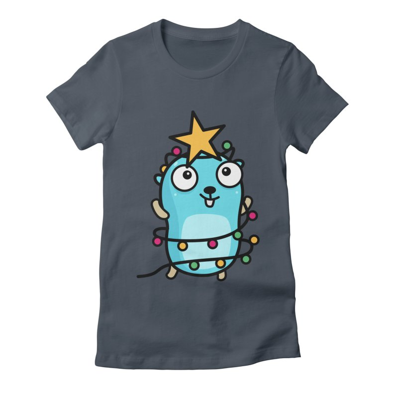 Christmas time Women's T-Shirt by Be like a Gopher