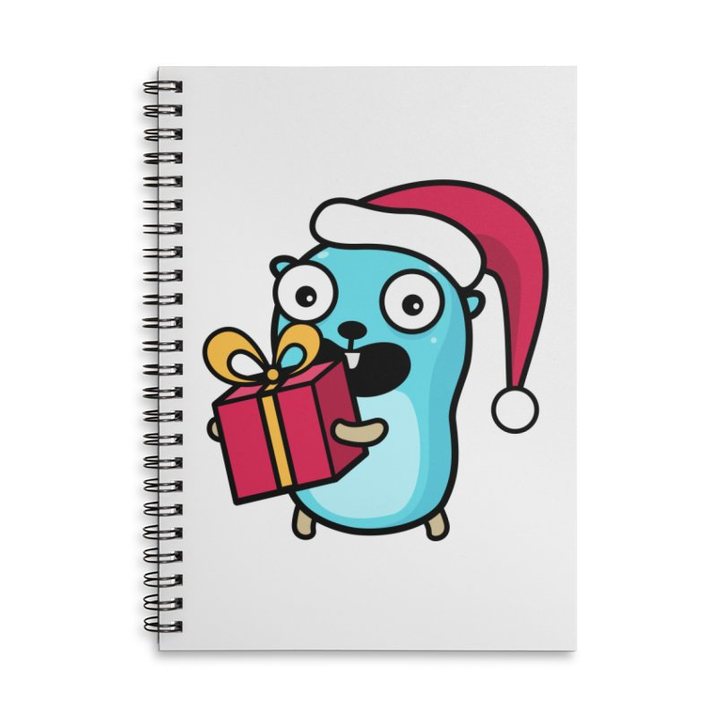 I'm your Santa! Accessories Notebook by Be like a Gopher