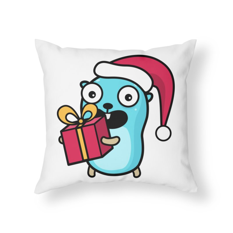 I'm your Santa! Home Throw Pillow by Be like a Gopher