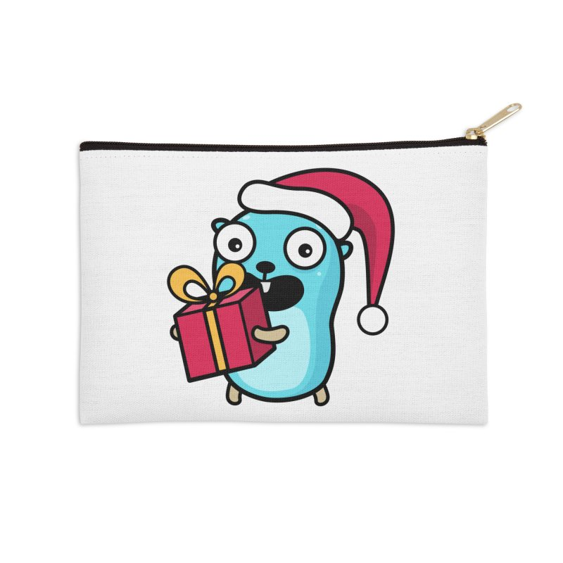 I'm your Santa! Accessories Zip Pouch by Be like a Gopher