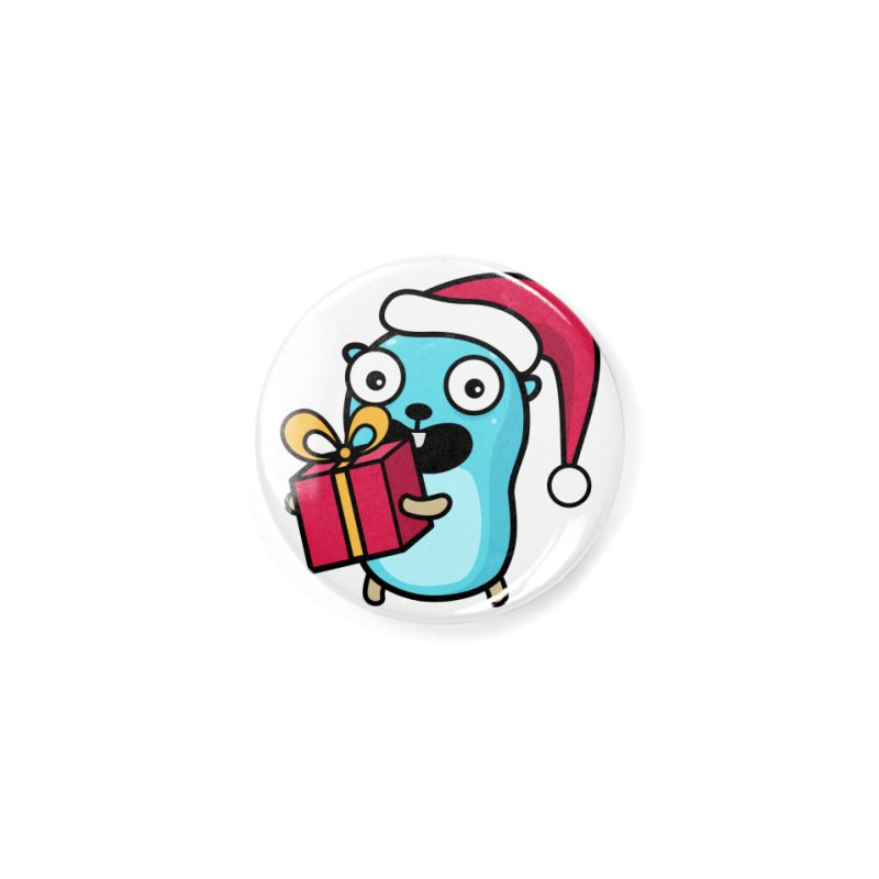 I'm your Santa! Accessories Button by Be like a Gopher