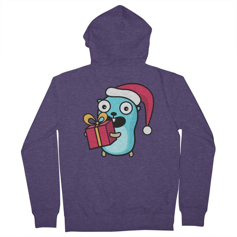 I'm your Santa! Men's Zip-Up Hoody by Be like a Gopher