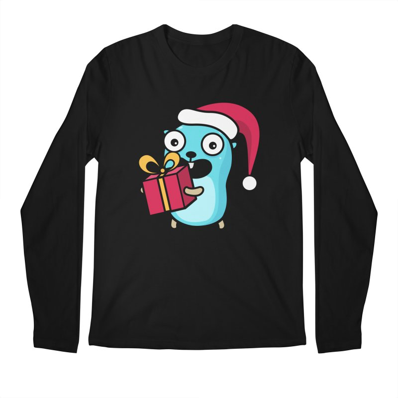 I'm your Santa! Men's Longsleeve T-Shirt by Be like a Gopher