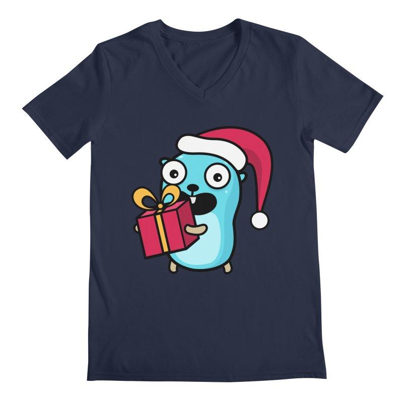 I'm your Santa! Men's V-Neck by Be like a Gopher