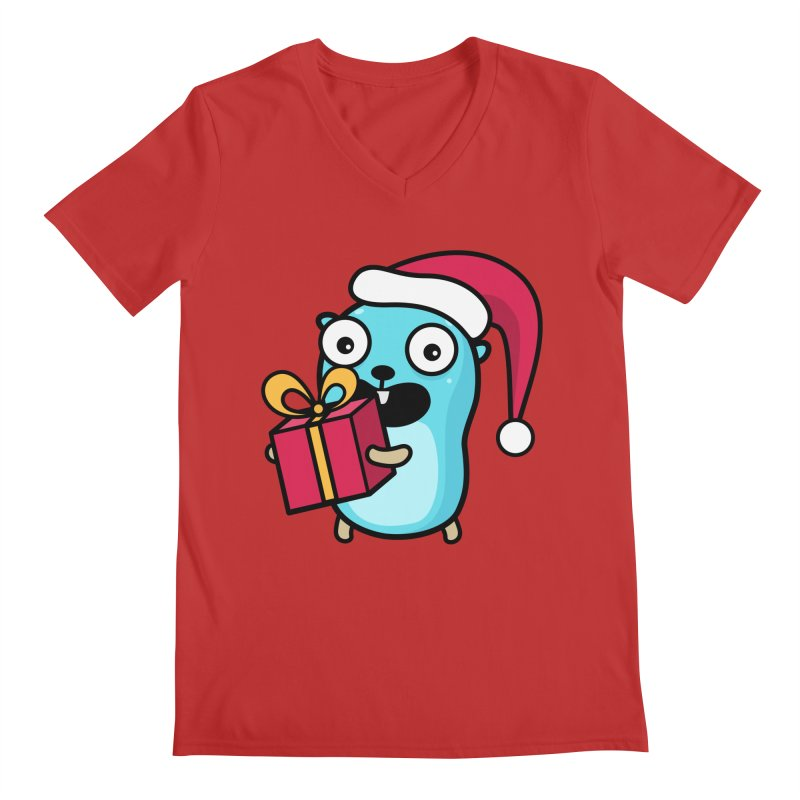 I'm your Santa! Men's V-Neck by Be like a Gopher