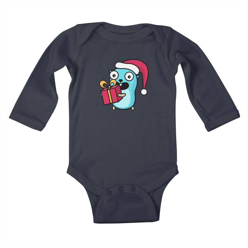 I'm your Santa! Kids Baby Longsleeve Bodysuit by Be like a Gopher